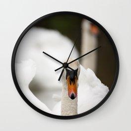 1046336 Mute Swan Wall Clock