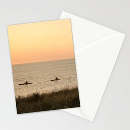Kayakers Stationery Cards