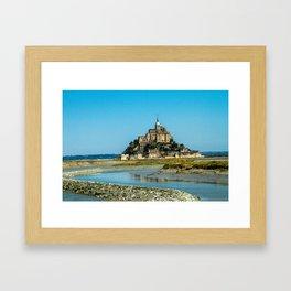 Mont Saint Michel Framed Art Print