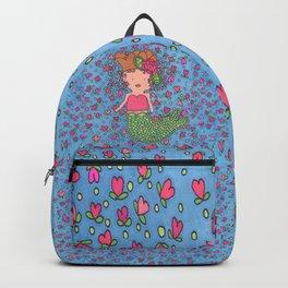 Mermaid Heart Backpack