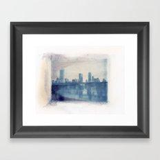 Austin Reflected Polaroid Transfer Framed Art Print