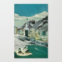 sydney Canvas Prints featuring Sydney by Martin Carri
