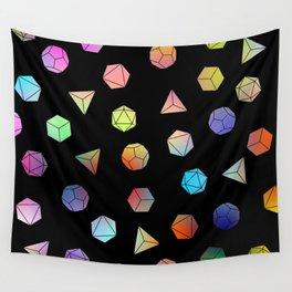Platonic solids II Wall Tapestry