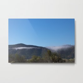 Solvang Morning Mist Metal Print