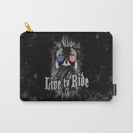 Live to Ride Carry-All Pouch