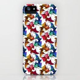 Koi carp fish fish Colorful pattern iPhone Case