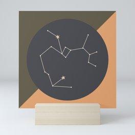 SAGITTARIUS (MID-CENTURY MODERN) Mini Art Print
