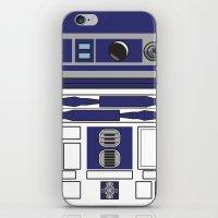 starwars iPhone & iPod Skins featuring R2D2 - Starwars by Alex Patterson AKA frigopie76