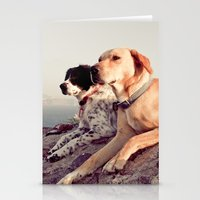 chill Stationery Cards featuring Chill by maisie ong