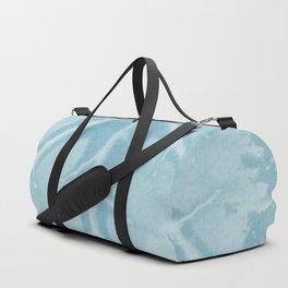Pale-Blue Leafs Heart. blue,veins, leaf, heart, art, decor,  Society6. Duffle Bag