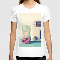 radio T-shirts featuring Retro Radio by Olivia Joy StClaire