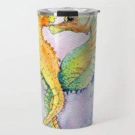 Seahorse Love Travel Mug