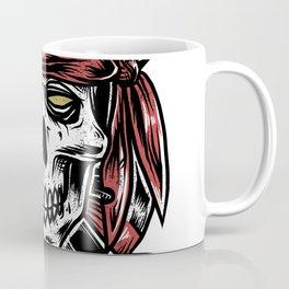 Pirates Skull Coffee Mug