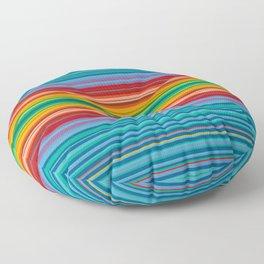 """Pulling Taffy""  Op art Floor Pillow"