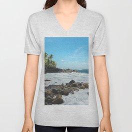 Hawaiian Ocean II Unisex V-Neck