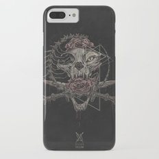 Cat skull iPhone 7 Plus Slim Case