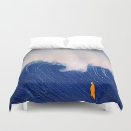 Blue Wave. Duvet Cover