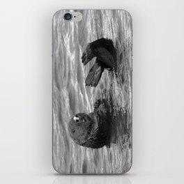 otter feet iPhone Skin