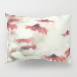 Dreamy Floral Abstract Art Pillow Sham
