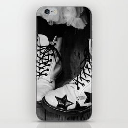 These Boots Were Made.... iPhone Skin