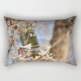 Winter bird Rectangular Pillow