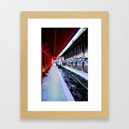 Follow Me (Kyoto, Japan) Framed Art Print