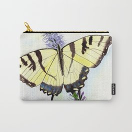 Eastern Tiger Swallowtail Butterfly on Lilac Carry-All Pouch