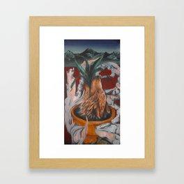 Aloe Wolf Framed Art Print