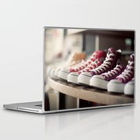 converse Laptop & iPad Skins featuring Converse by whitney b