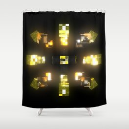My Cubed Mind: Frame 172 Shower Curtain