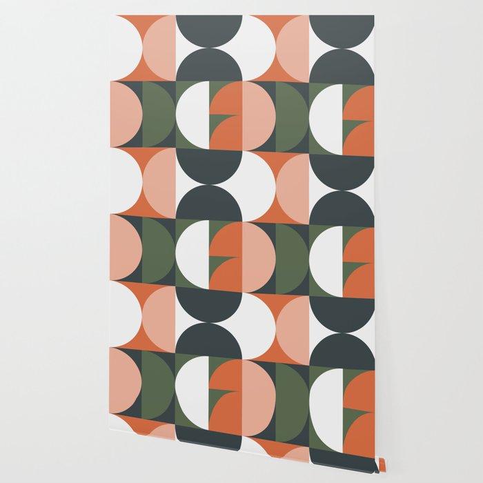 Mid Century Geometric 15 Wallpaper