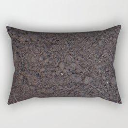 Texture #6 Soil Rectangular Pillow