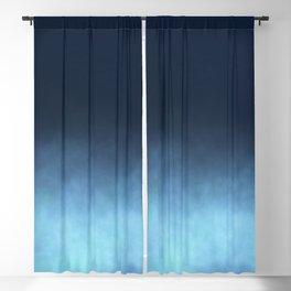 Mist - Midnight Blue Ombre Blackout Curtain
