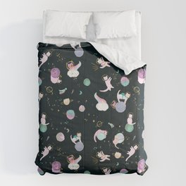 Cats in Space Comforters