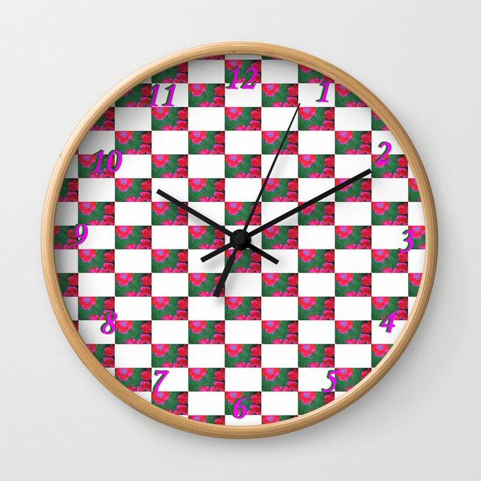 Flamboyant Wall Clock