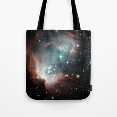 Nebula and stars Tote Bag