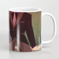 teacher Mugs featuring Bad Teacher by modHero