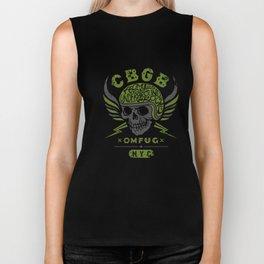CBGB home of underground in rock OMFUG biker t-shirts Biker Tank