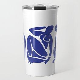 Blue Matisse Travel Mug