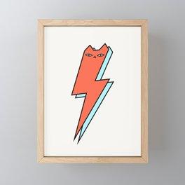 Thunder Cat Framed Mini Art Print