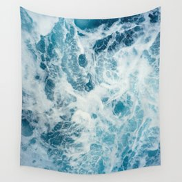 Rough Sea - Ocean Photography Wall Tapestry