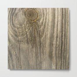 Texture #1 Wood Metal Print