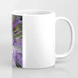 Purple Passion Flower Close Up Coffee Mug