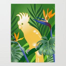 Cockatoo Paradise Poster