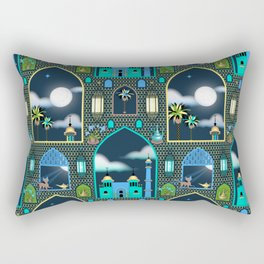 Full Moon Rectangular Pillow