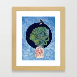 Asclepius' Path Framed Art Print