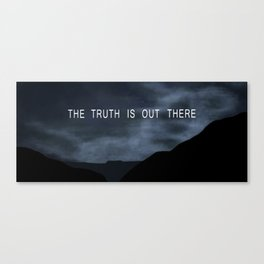 Truth. Canvas Print