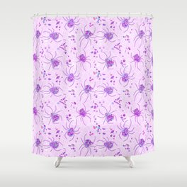 Sugar Spiders Shower Curtain
