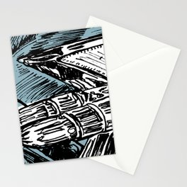 CADILLAC TAIL FIN Stationery Cards