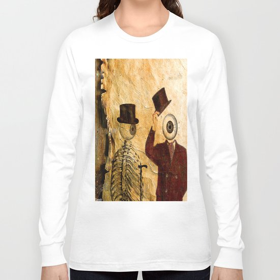Bonjour Monsieur Bone ! Long Sleeve T-shirt